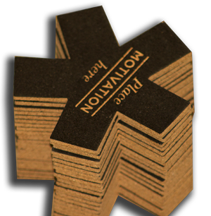 Custom Die Cut Cork Coasters